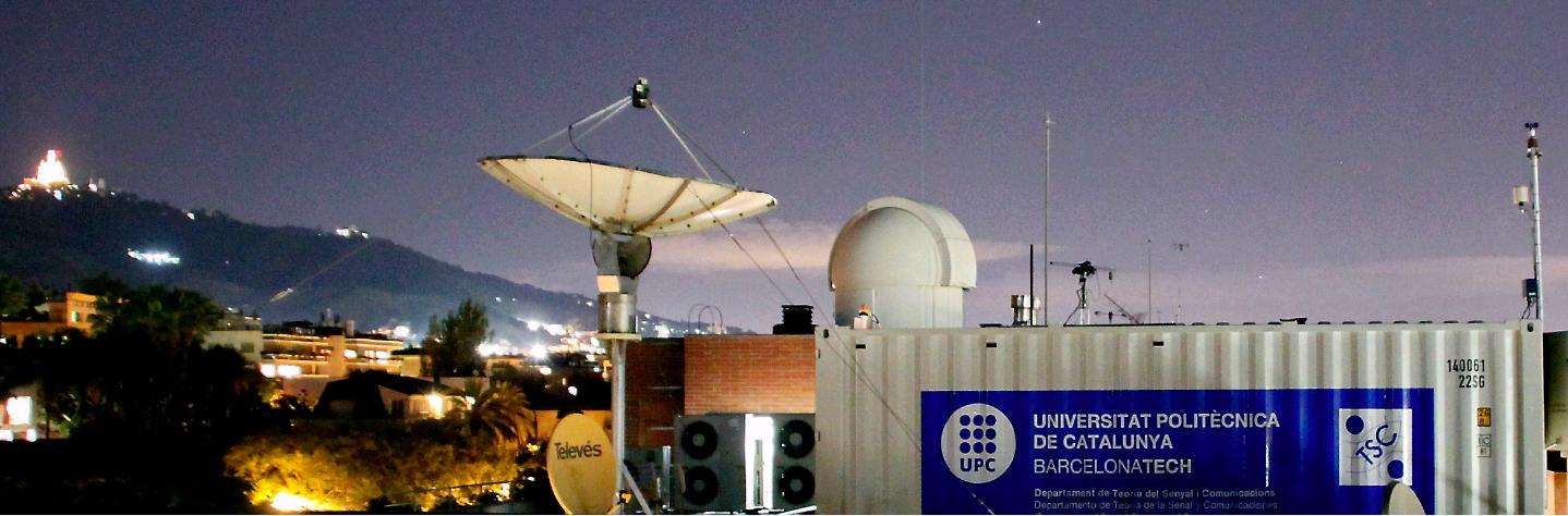 Observació dels aerosols atmosfèrics amb el sistema radar-laser de la UPC