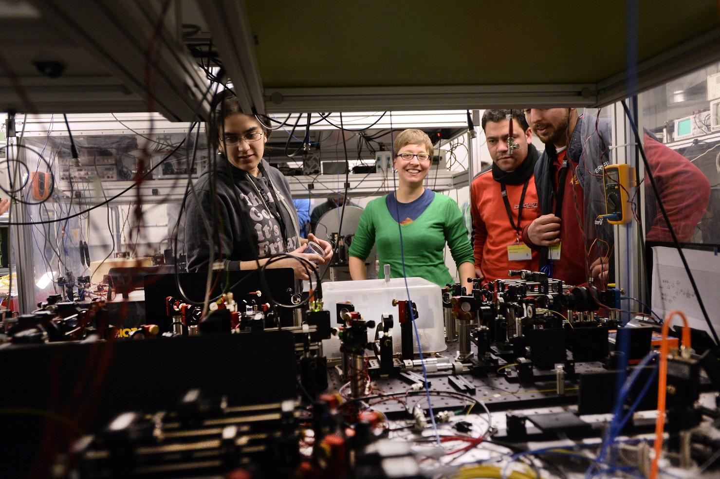 La fotònica ens envolta! - Visita a l'ICFO - Institut de Ciències Fotòniques